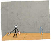 Badminton online