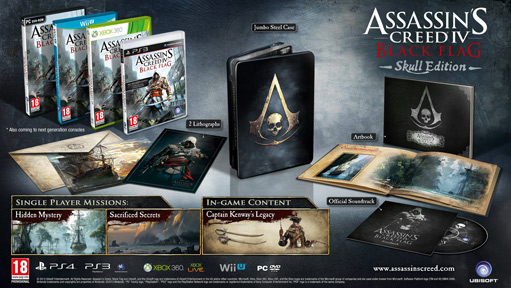 AC IV: Black Flag - Skull Edition